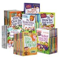 英文原版 My Weird School 我那奇怪的学校 疯狂学校 第一、三、四季 45本全套装 美国小学推荐阅读 非常好的桥梁章节书!是从绘本过度到原版读物的非凡之选!青少年小说书