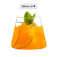 创意啤酒杯 富士山杯 酒吧鸡尾酒杯 无铅玻璃 果汁杯水杯牛奶杯 小号(280mL/10 oz)