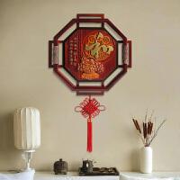客厅木雕浮雕画 走廊过道挂画 背景墙实木壁饰 餐厅浮雕装饰画 家和福顺挂件 和 送中国结 60*60CM