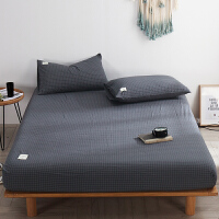全棉水洗棉床笠单件床罩席梦思床垫保护套防尘罩1.8m床包纯棉床单