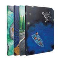 几米《星空》系列笔记本:依恋、美好、夜空、童年(套装共4册)