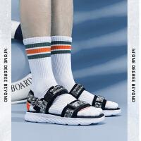 【8折叠券】361凉鞋男鞋2021夏季新款透气轻便运动休闲鞋子时尚卡扣沙滩鞋男