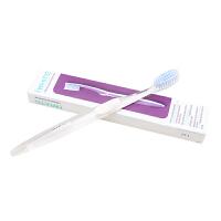 口健乐iWhite洁白牙刷软毛清洁儿童便捷 护齿 含洁牙粉颗粒 经典白