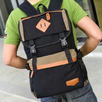旅行包双肩包帆布包时尚14寸15寸电脑包学生包休闲包