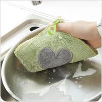 厨房可挂式吸水百洁布洗碗巾家用加厚洗锅抹布擦手巾