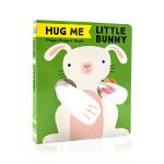英文原版绘本 抱抱我 小兔子手指偶书 Hug Me Little Bunny: Finger Puppet Book