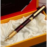 毕加索PS-902绅士玛瑙红金夹宝珠笔/签字笔 毕加索签字笔