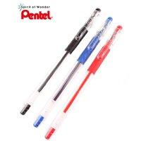 日本PENTEL派通K116可换芯金属尖走珠笔中性笔0.6MM