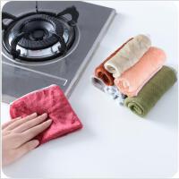 不沾油抹布吸水抹布厨房洗碗布抹布不掉毛百洁布洗碗巾