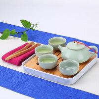 陶瓷功夫茶具套装家用便携旅行简约茶杯景德镇青花瓷茶壶