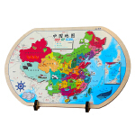 中国地图(AR版 木质磁力拼图)