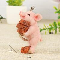 创意可爱小猪摆件仿真猪家居装饰品生日礼物闺蜜女生搬砖猪生肖猪