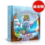 英文原版绘本The Napping House board book打瞌睡的房子 廖彩杏 吴敏兰书单纸板书 第31本