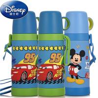 包邮 迪士尼 保温杯儿童450ML不锈钢保温杯3D图案保温杯子 3D立体儿童水壶