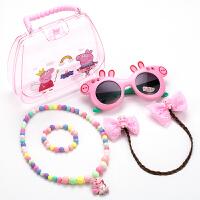 儿童礼物手提包包首饰项链女童公主链墨镜小女孩百搭可爱配饰品