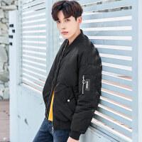【全场1件3折 到手价:228】衣品天成2018冬季新款棉衣男士棒球领棉袄韩版潮流学生装外套