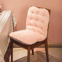 坐垫办公室久坐靠垫靠背一体加厚冬季屁股垫椅子椅垫座椅垫