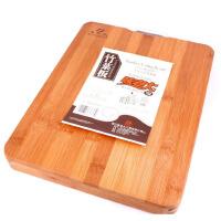 包邮 味老大 竹制莱板 剁板 实心竹莱板 砧板 双面菜板 面板 49.6*35.6*2.6CM