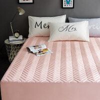 加厚夹棉床笠单件席梦思床垫套保护套床套床罩防尘罩防滑1.5/1.8m