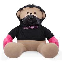 拳击熊公仔大号玩偶美国*1.6米泰迪熊大号毛绒玩具抱抱熊 如图