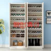 鞋柜鞋架储物柜阳台门厅多层现代简约家用门口实木简易木质大容量