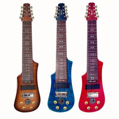 支持货到付款  Vorson 8弦夏威夷电吉他 八弦夏威夷电声吉他 LT-230-8 在6弦的基础上增加了一个高音和一个低音