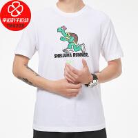 NIKE/耐克男装新款运动服跑步训练健身快干透气舒适休闲圆领短袖T恤CZ9830-100