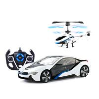 遥控车遥控飞机互动组合套装 儿童玩具飞机遥控汽车