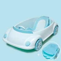 W 通用宝宝洗澡桶婴儿浴盆洗澡盆新生儿童可坐躺大号多功能超大沐浴