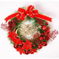 圣诞节装饰品用品圣诞花环藤条花圈门挂创意店面挂件布置场景装扮