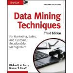 【预订】Data Mining Techniques For Marketing, Sales, and Custom