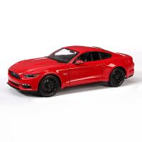 2015款1:24福特野马拼装车模仿真合金汽车拼装模型组装模型