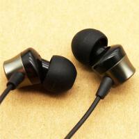 大厂货手机入耳式耳机/耳麦线控可通话 黑色华为/小米/oppo等通用