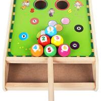 幼儿迷你台球桌球类婴儿童弹力1-3岁半2保龄球男孩女宝宝玩具 趣味桌球