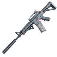 小孩M416水晶弹水珠儿童玩具枪男孩子冲锋枪机关枪