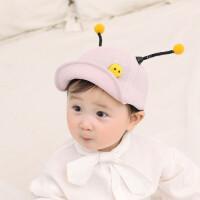 6-12个月婴儿帽子棒球帽遮阳帽春秋1-3岁男女宝宝儿童鸭舌帽