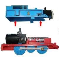 带轨道的火车 托马斯轨道火车 电动小火车套装 2-3-4-5-8岁拼装儿童玩具 轨道多种拼法 送电池