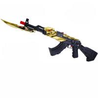 儿童玩具枪穿越火线软弹枪 巴雷特黄金无影AK47火麒麟雷神男孩子六一儿童节礼物