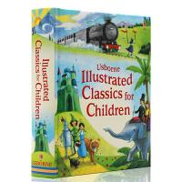 英文原版绘本 Usborne Illustrated Classics for Children 精装全彩插画版 儿童图