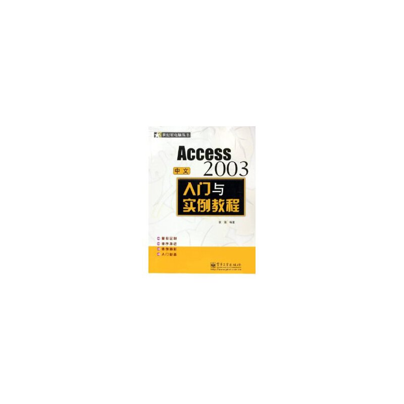 中文Access2003入门与实例教程——世纪星电脑丛书