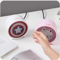 家用迷你暖风机办公室桌面取暖器学生小型立式节能热暖器