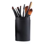 化妆品用具 化妆用东西美妆工具全套 组合一套刷子套装12支便携款 人造纤维