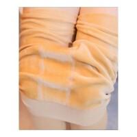 (质量保证)秋冬新款加绒加厚打底裤连裤袜女肉色可外穿保暖裤 均码(弹力)
