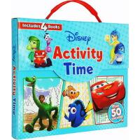 【英文原版】Disney Pixar Good Dinosaur 迪斯尼皮克斯恐龙当家等4册礼盒装