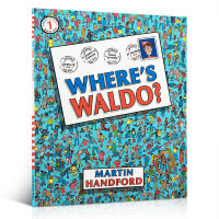 "Where's Waldo 威利在哪里? 在画册中有一个非常考验眼力的""寻找Waldo""的小游戏模式 Martin H"