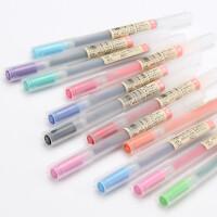 香港直采 日本原装MUJI|无印良品文具|防逆流胶墨笔|中性水笔|签字笔0.5MM