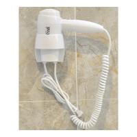 吹风机 宾馆吹风机酒店电吹风壁挂式吹风筒宾馆酒吹风机卫生间干发器 白色