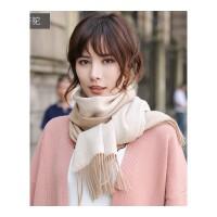 双面围巾女士春秋冬季冬天韩版百搭加厚披肩两用新款