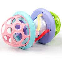 声光软胶健身球婴儿手抓球触觉感知球益智0-1岁宝宝玩具