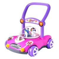 宝宝手推车 婴儿学步车儿童学步推车 可调速带音乐助步车玩具